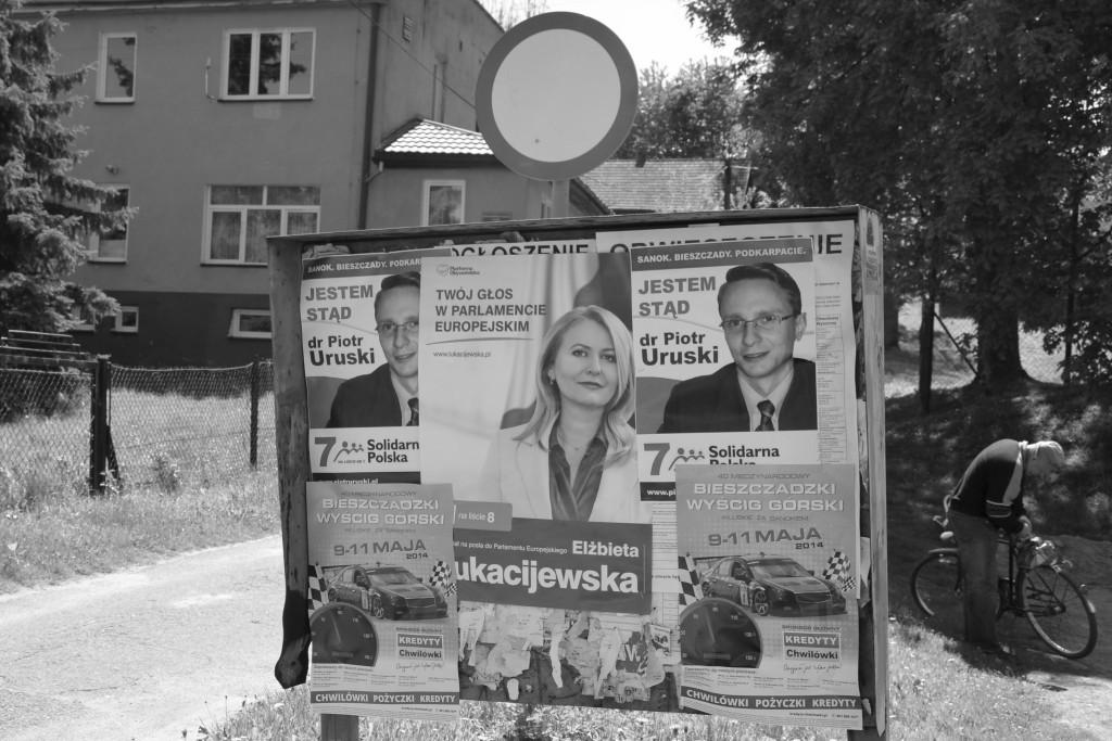 Wahlplakate in Polen zur EU-Wahl.  Foto: Wikipedia