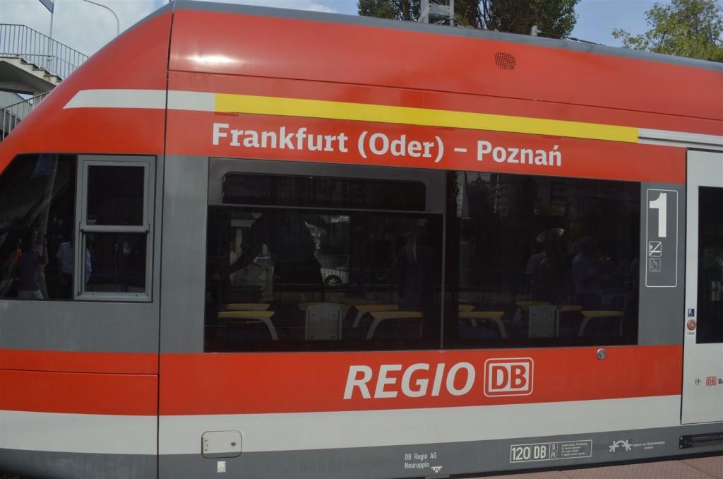 Neue Zugverbindung Frankfurt(Oder) - Poznań