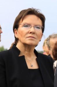 Die neue polnische Ministeriräsidentin Ewa Kopacz.  Foto: Jarosław Kruk/Wikipedia
