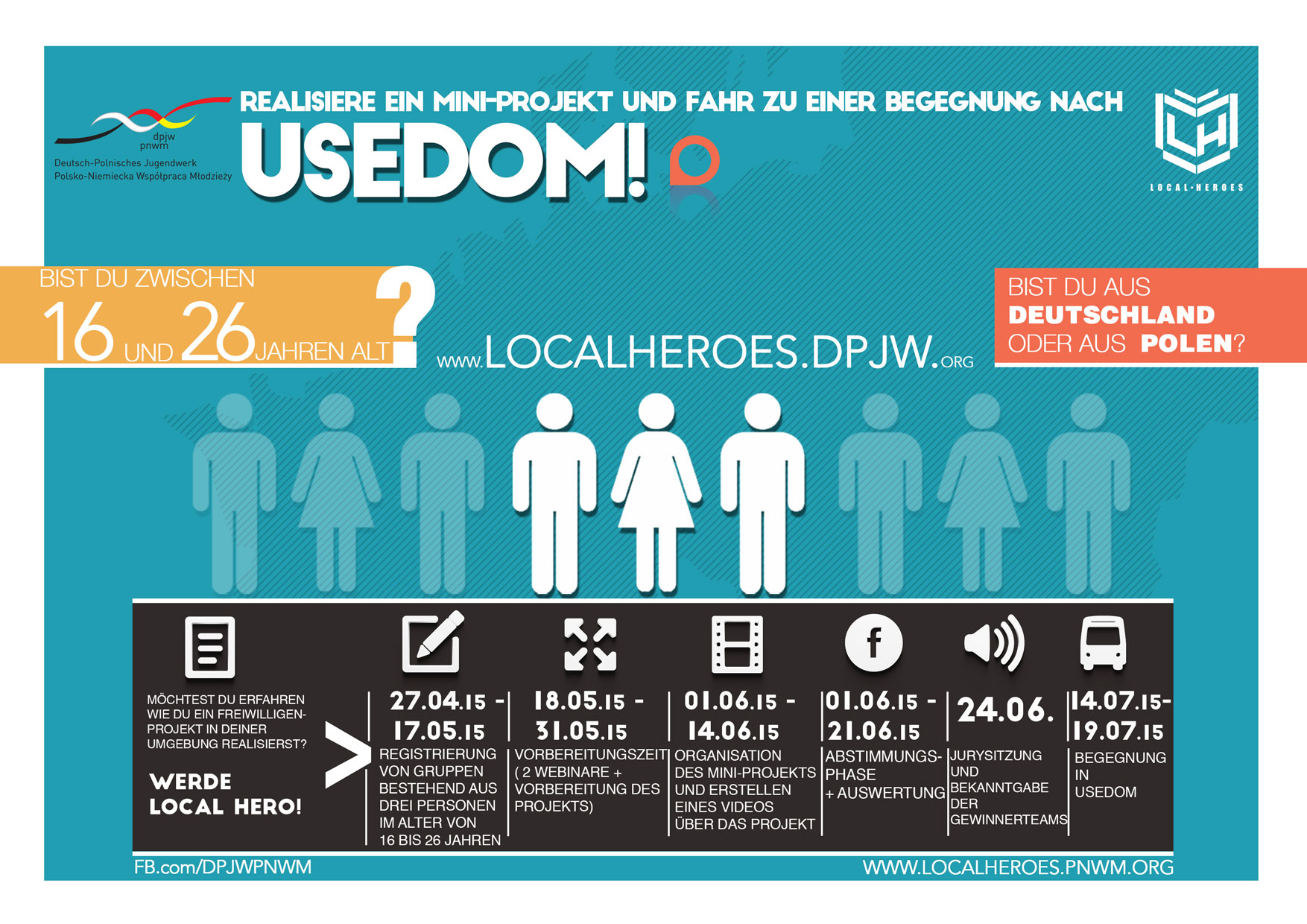 Infographik Local Heroes