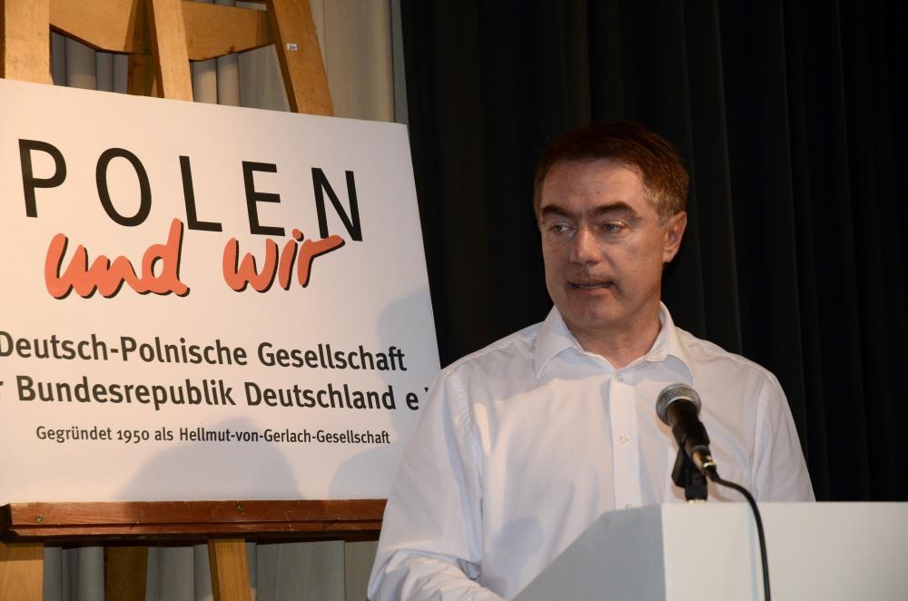 Janusz Styczek, Gesandter der Botschaft der Republik Polen in Berlin, überbrachte die Grüße des Botschafters.