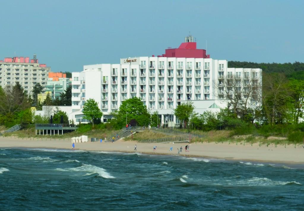 Międzyzdroje ist ein vor allem von polnischen Badegästen beliebter Ferienort. Sein 25jähriges Jubiläum feiert das Hotel Amber Baltic der österreichischen Hotelgruppe Vienna House. Foto: Forster