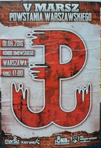 Plakat zu dem Neonazi-Aufmarsch. Foto: KonTakT-Press