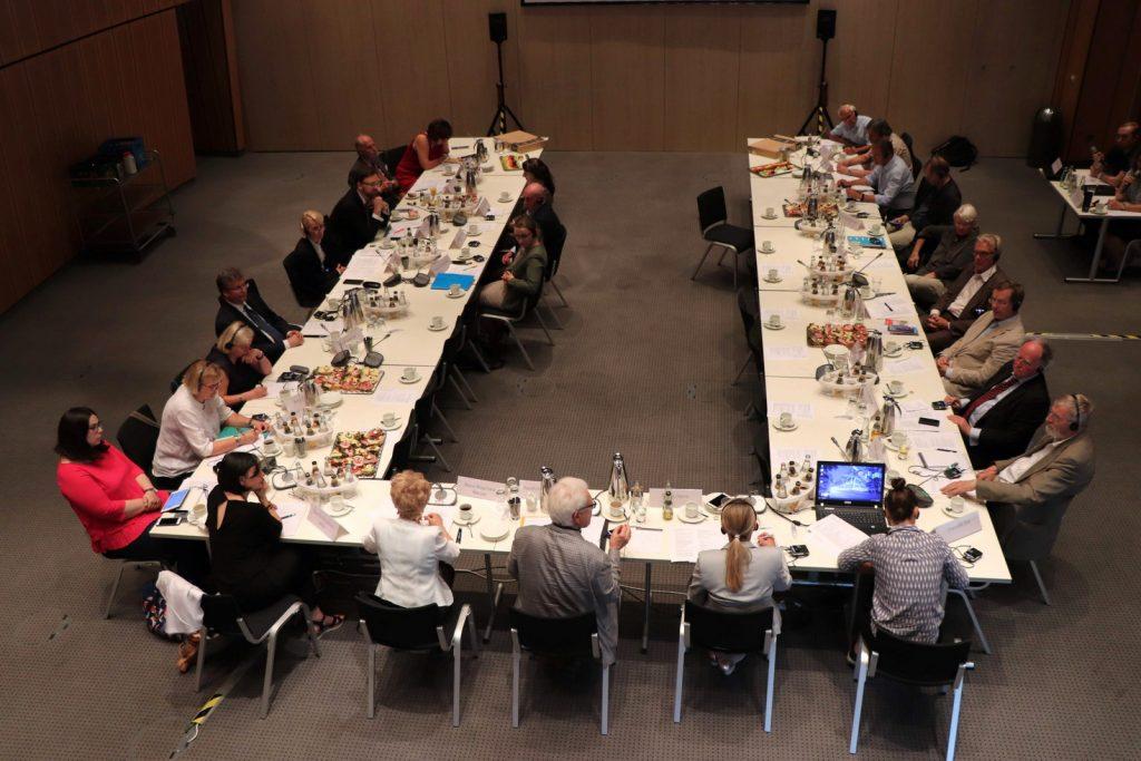 Runder Tisch der Zivilgesellschaft Berlin-Posen am 17. Juni 2019 Foto: Stiftung Zukunft Berlin